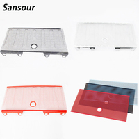 Car 3D Mesh Grille Grill Without Hole Insect Pest Bug Deflector Stainless Steel Black With Hole