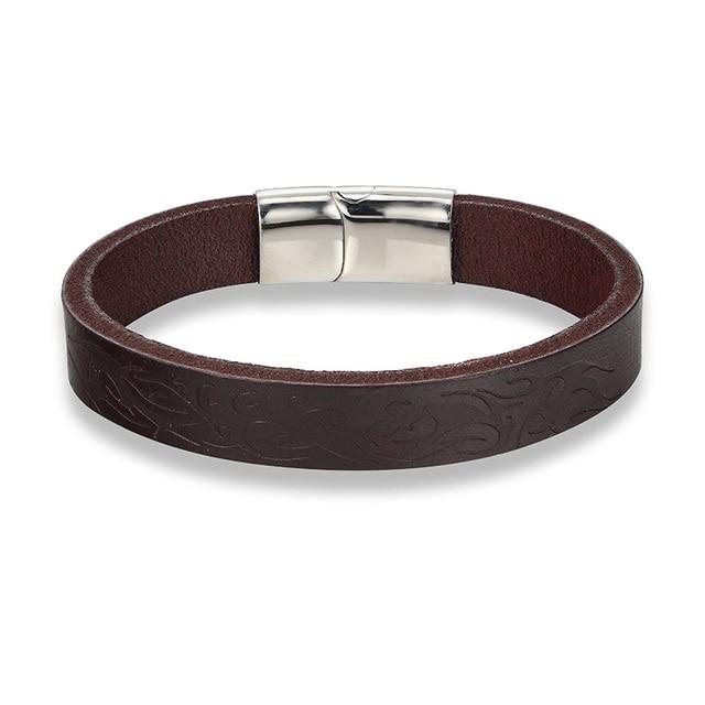 Фото кожаный мужской браслет janeyacy 2017 ювелирные изделия с якорем