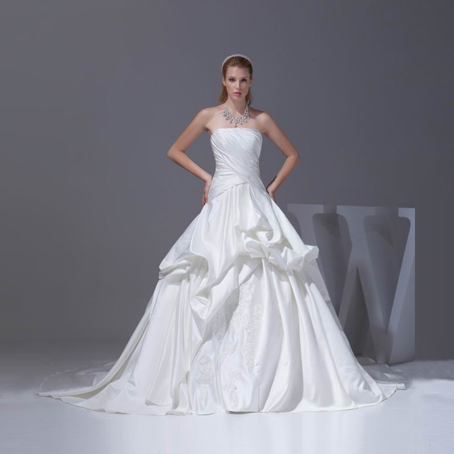 Xiangyihui Bridal Off Shoulder Wedding Dresses Ball Skirt ...