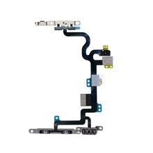 Power On / Off Button Flex Cable For iPhone X 8Plus 8G 7plus 7G 6S 5S 5G Mute Volume Switch Connector Replacement Parts