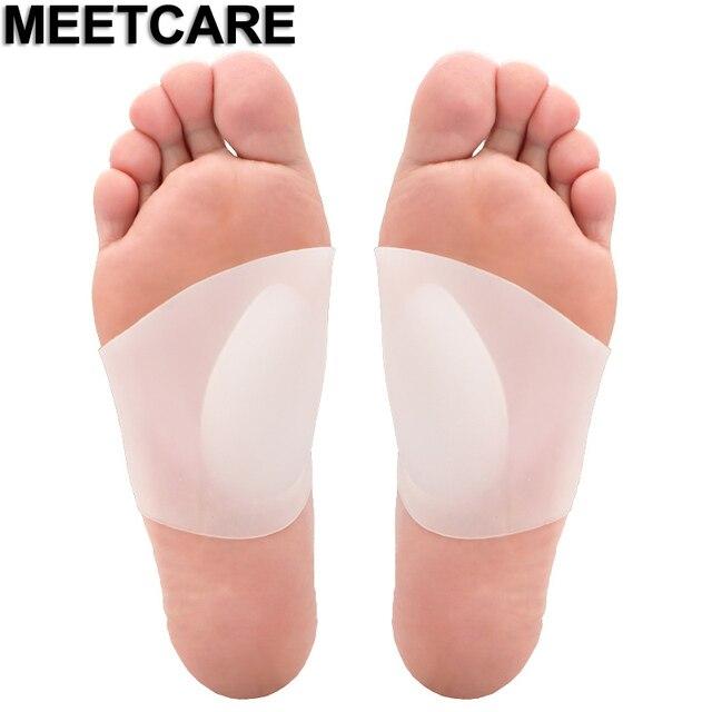 Mới nhất Chân Vòm Vòng Chỉnh Flatfoot Chỉnh Hình Bàn Chân Hỗ Trợ Thể Thao Mềm Chống đau Gel Lót Cải Thiện X O chân Đế