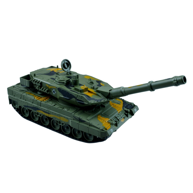 German Leopard 2A6 Main Battle Tank Military Car Alloy Pull Back Flashing Lighting Toys For Children Cars Toy fun child toy tank alloy simulation toy german main battle tank assembly model children intelligence education toy tank