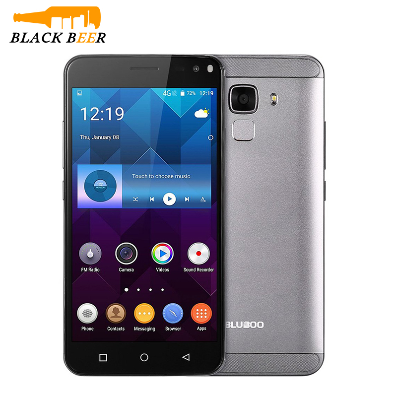 "Цена за Оригинальные bluboo xfire 2 смартфон mtk6580 quad core wcdma отпечатков пальцев мобильный телефон 5.0 ""HD IPS 1 ГБ RAM 8 ГБ ROM 5MP Мобильного Телефона"