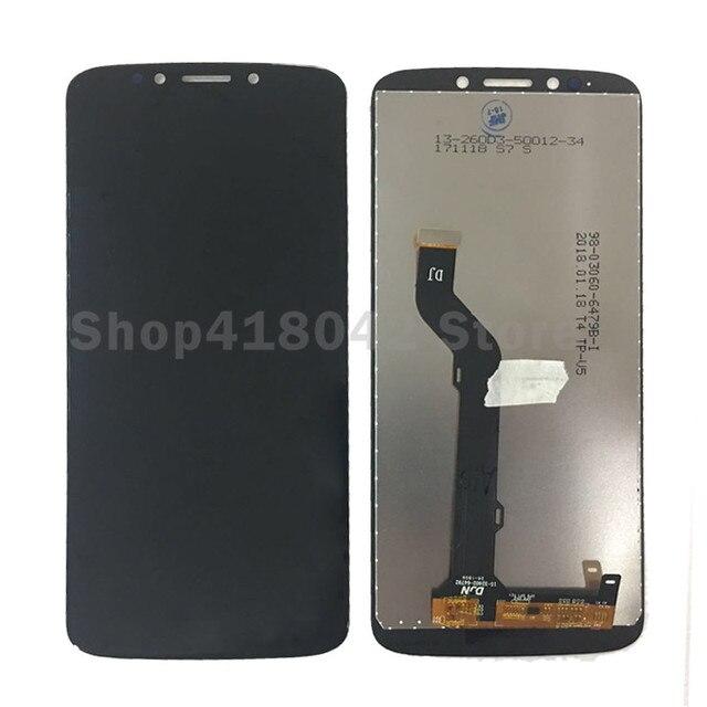 20 adet/grup DHL lcd Motorola MOTO E5 artı LCD ekran ile dokunmatik sayısallaştırıcı tertibatı Moto E artı 5th Gen lcd ücretsiz kargo