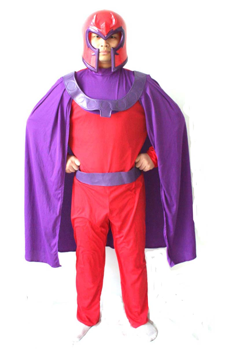 Free shipping ,adult men halloween party cosplay X MEN magneto ...