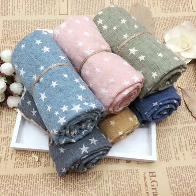 New Children Fall And Winter Comfortable Soft Scarf Star Baby Cute Girl Scarves -B116
