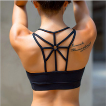 High Quality Sports Bra Women Fitness Yoga Bra For Running Gym Padded Wirefree Shakeproof Underwear Push Up Seamless Top Bra