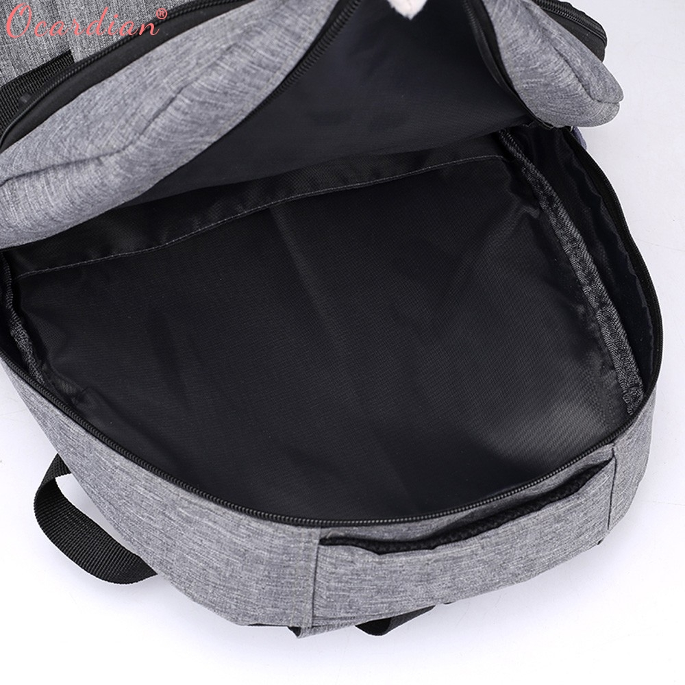 Ocardian Backpacks Unisex Large Capacity Travel School Backpack Women Backpacks Nylon Waterproof Backpack Men Jl 16 #4