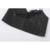 Couro Artificial preto Tanque Top Sem Mangas Mulheres top safra de Verão 2017 Tiras camis camisole feminino OZZ8312