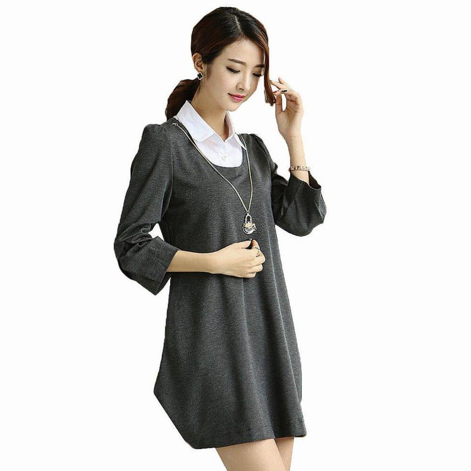 Winter maternity clothes promotion shop for promotional winter maternity clothes autumn winter maternity dresses for pregnant women casual work pregnant dress plus size womens clothing ombrellifo Choice Image