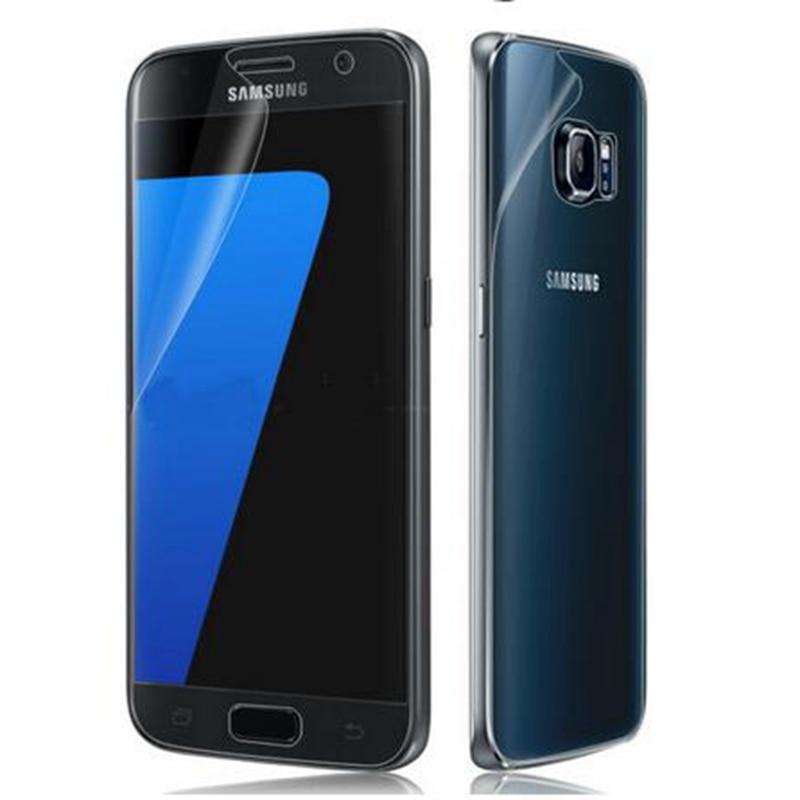 2017A5 2017A7 Ekran arxa filmi Clear Samsung Ultra 2017 A5 A7 S6 S7 - Cib telefonu aksesuarları və hissələri - Fotoqrafiya 4