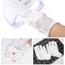 DCOVOR Radiation Protection Gloves Nail Art Tools Anti UV Hand Protection Gloves For UV Light Manicure Tools 1 Pair