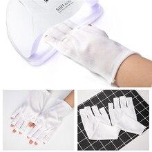 DCOVOR קרינת הגנת כפפות מסמר אמנות כלים אנטי Uv יד כפפות הגנה UV אור מניקור כלים 1 זוג
