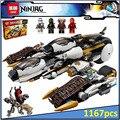 Лепин 06038 Совместимость Legoe Ninjagoes Цифры Ультра Стелс Raider 70595 Строительного Кирпича Ниндзя Фигура Игрушки Для Детей