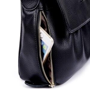 Image 5 - 高品質本革女性のハンドバッグカジュアル女性のショルダーバッグ女性のメッセンジャークロスボディバッグ旅行バッグ送料無料