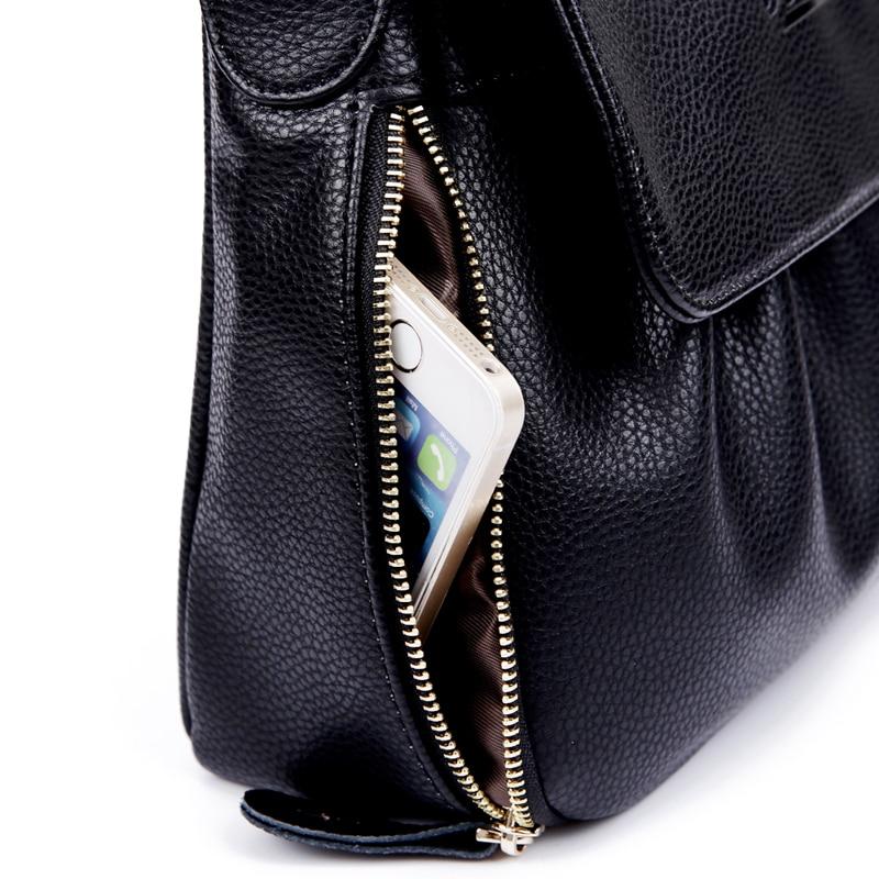 Image 5 - High Quality Genuine Leather Womens Handbags Casual Female  Shoulder Bags Women Messenger Crossbody Bag Travel Bag Free Shippingbag  boutiquebag motorbikebag bead