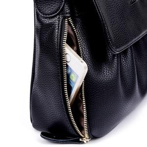 Image 5 - High Quality Genuine Leather Womens Handbags Casual Female Shoulder Bags Women Messenger Crossbody Bag Travel Bag Free Shipping
