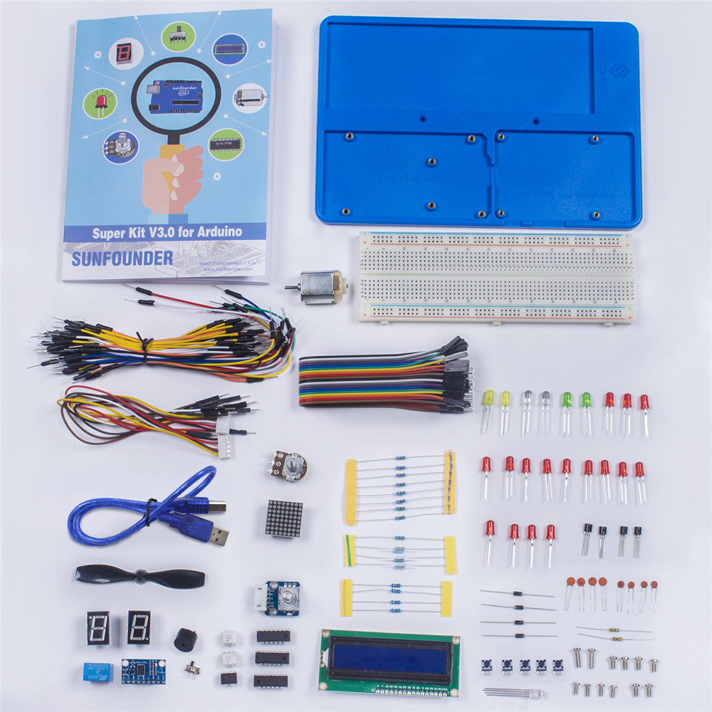 Kit for arduino UNO (5)
