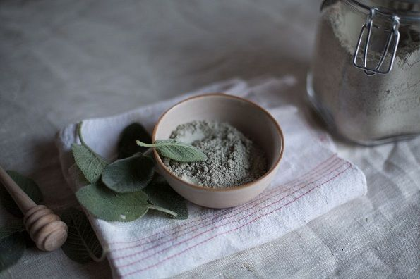 New Natural French Green Clay Fine Powder Face Mask Edible Natural Skin Detox 90G Free Shipping