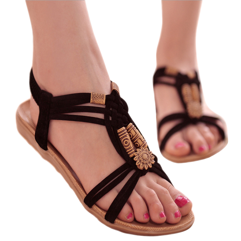 women sandals 2016 wedges shoes for women flip flops fashion new gladiator  sandals women's shoes 2016 spring summer DT128-in Women's Sandals from Shoes  on ...