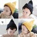 Корона Дизайн Зима Детские Шапочки Шляпа Трикотажные Шпиль Девочки Мальчики Cap для Детей 1 ШТ. для 2-4 Лет