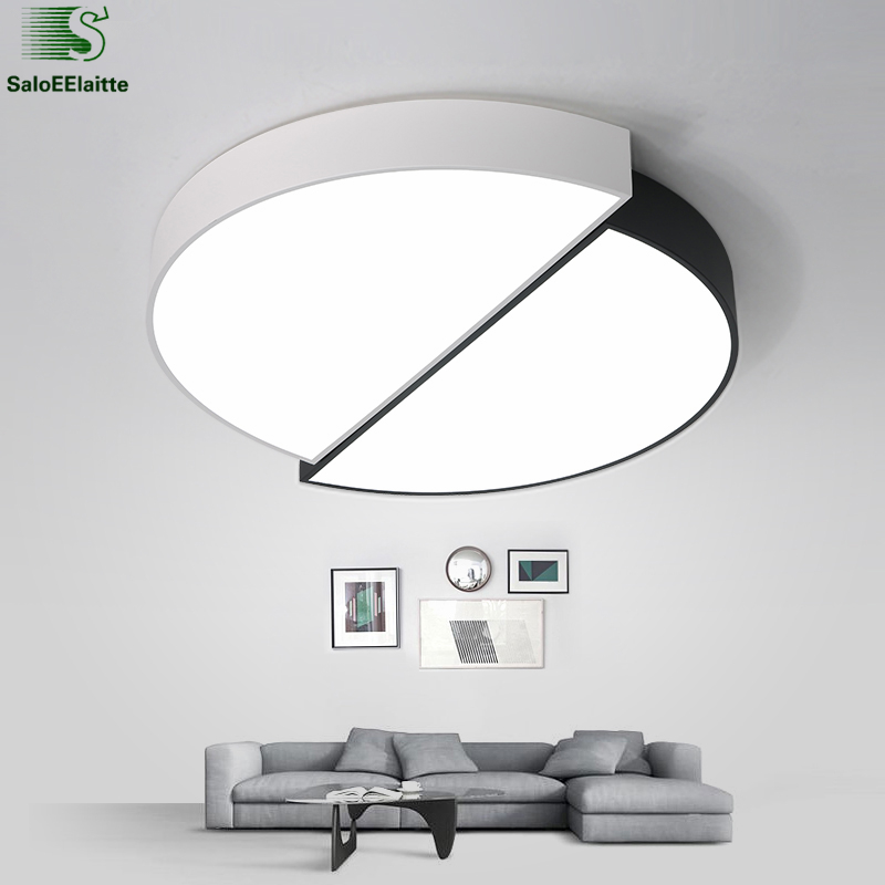 Modern Minimalism Metal Dimmable Led Ceiling Lights Lustre Acrylic Bedroom Led Ceiling Lamp Ceiling Light Led Luminaria Fixtures protective flip open pc pu leather case w holder card slot for iphone 5 5s black