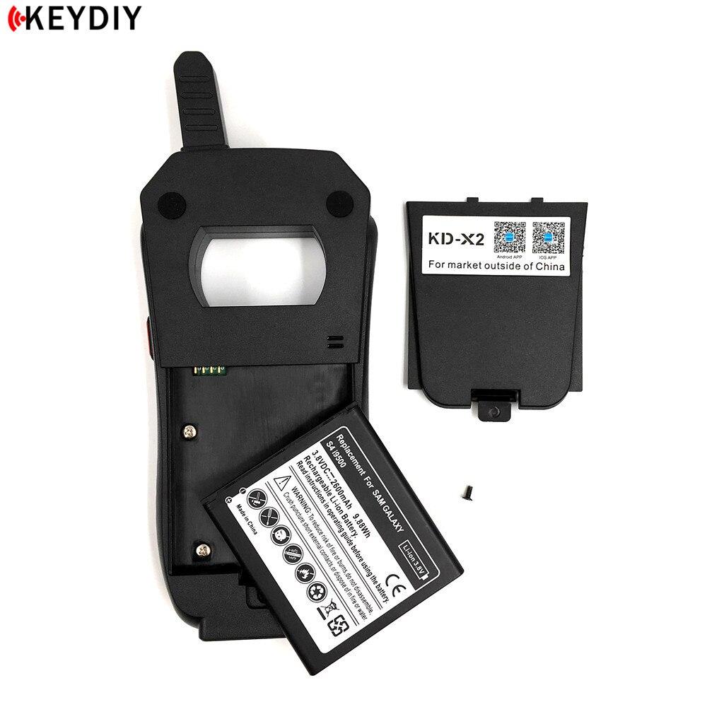 Image 4 - Original KEYDIY KD X2 Remote Maker Unlocker Key Generator 96Bit 48 Transponder Chip Copier with Data Collector English Version-in Auto Key Programmers from Automobiles & Motorcycles