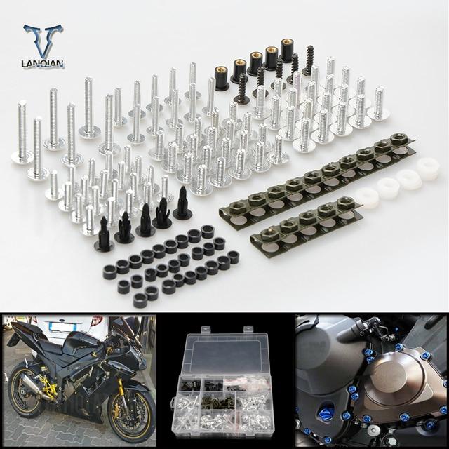 CNC Universale Del Motociclo della Carenatura/parabrezza Bulloni Viti set Per Yamaha v max /v max 1700 xmax 250 /xmax 125/ xmax 400