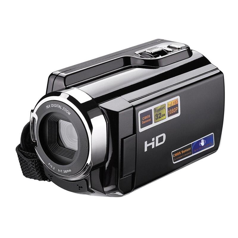 ALLOET 1080 P 20MP CMOS 2.7 pouce LCD Écran 16X Zoom Numérique HD Vidéo Caméra Caméscope Usage Domestique Portable DV Rotatif Écran DV