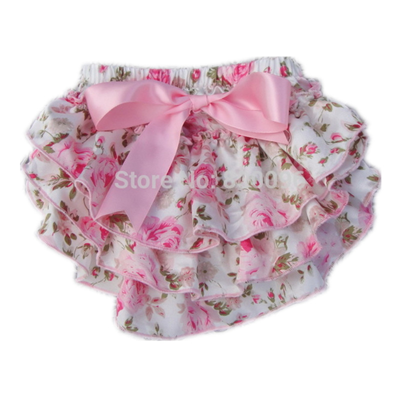 By bloomers, I mean white shorts with elastic on the legs that are kind of lacy/frilly. I would like to find a pair for a Halloween costume, but I am at a complete loss of where I can find them. One thing I do not want to do is purchase them secondhand.