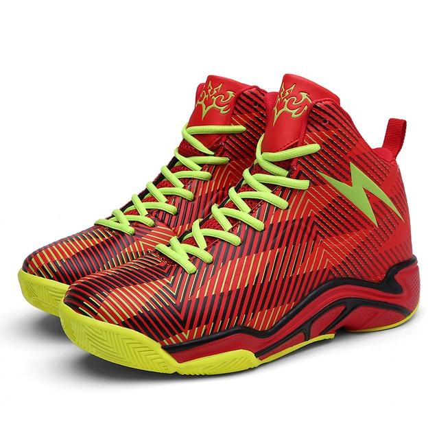 aa111a428d47 High Men basketball shoes Comfortable Boys Kid tenis basquete curry 4 Women  Training Shock Sneakers zapatillas deportivas hombre