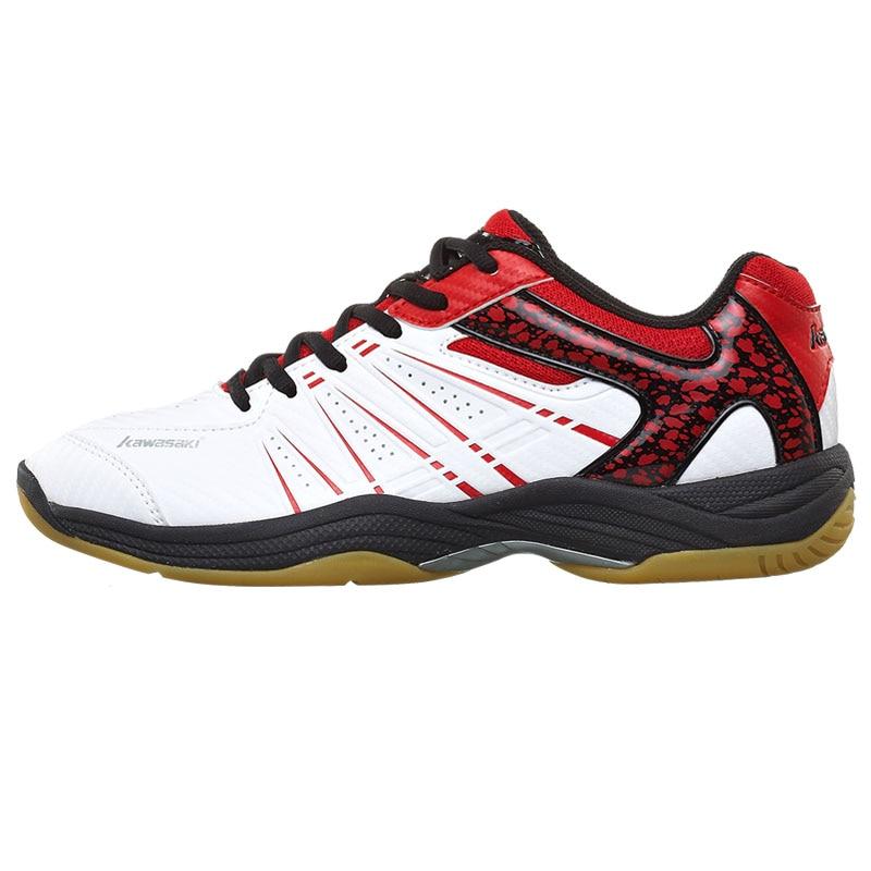 KAWASAKI Merek Profesional Sepatu Bulutangkis Hijau Lace Up Sneakers - Sepatu kets - Foto 5