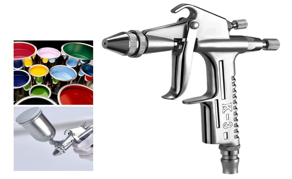 HTB1H8QmXfvsK1Rjy0Fiq6zwtXXar - Spraying machine Spray gun K-3 0 caliber 0.3/0.5/mm nozzle car automatic spray gun kit Airbrush