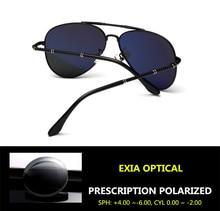 Sunglasses Driving Men Polarization Single Vision Optical Lenses 55.80 USD EXIA OPTICAL KD-275 Series