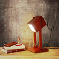 Wooden Desk Light Retro table lamp bedside lamps Northern Europe style for reading