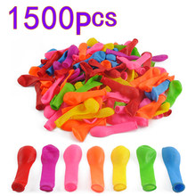 1500Pcs Fast Fill Water Balloons Toys Magic Bombs Beach Party Outdoor Filling Water Balloon Bombs Toy For Kids Adult Children(China)