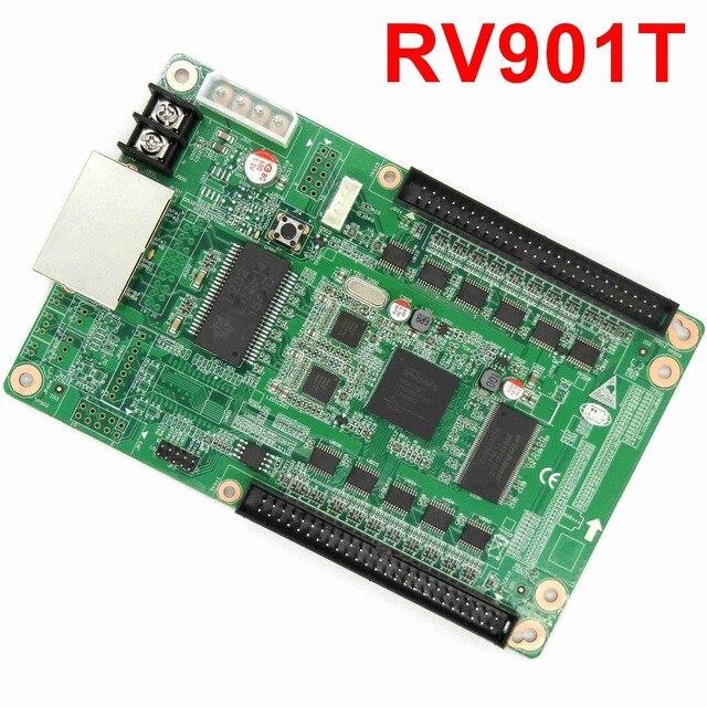 Darmowa wysyłka LINSN RV901 RV901T w pełnym kolorze wyświetlacz LED otrzymaniu karty dla synchroniczne doprowadziły system kontroli wideo odbiornik