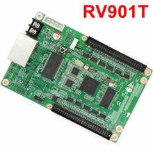 LINSN – carte de réception pour écran LED polychrome, pour système de contrôle vidéo synchrone, livraison gratuite, RV901 RV901T