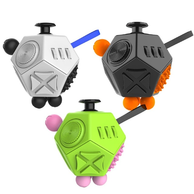 Fidget Cube 2 0 Puzzles Magic Cubes Plastic Office Desk Toys For Autism Adhd Gift Antistress Relieves