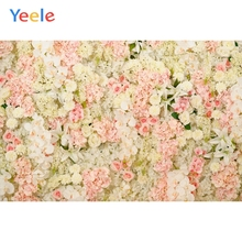 Yeele Wedding Ceremony Colorful Flowers Love Photography Backdrops Girl Birthday Party Photographic Backgrounds Photo Studio