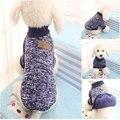 Clássico Quente de Inverno Roupa do Filhote de Cachorro do animal de Estimação Do Gato Do Cão do Revestimento do Revestimento moda Suave Camisola Roupas Para Chihuahua Yorkie 9 Cores XS-2XL S9
