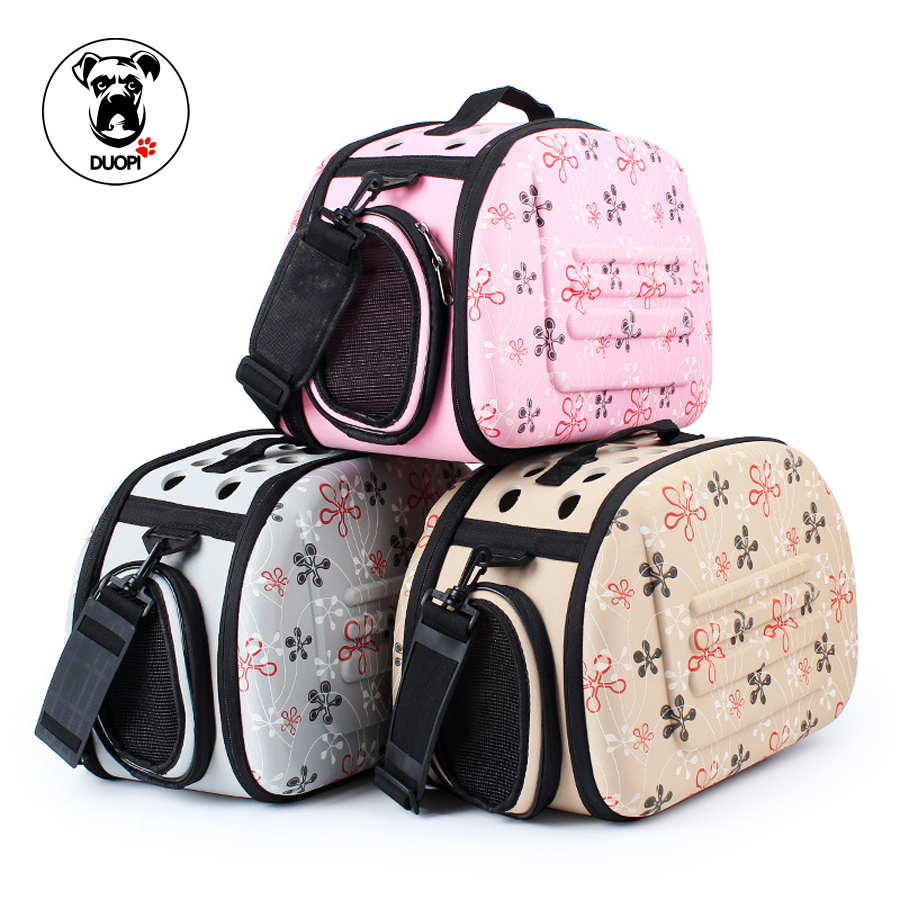 Outdoor Dog Bags Travel Pet Storage Folding Bags Foldable Pet Carrier Small Dog Carrier Bag Cat Fanshional Bag Cat Pack Dog
