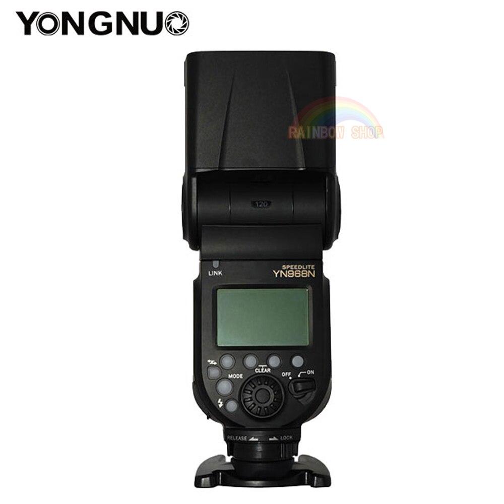 New YONGNUO Flash Speedlite YN968N Wireless TTL 1 8000 with LED Light for Nikon Camera Compatible