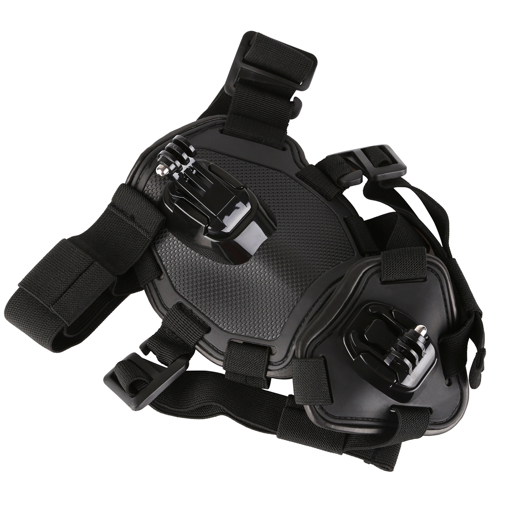 SHOOT Dog Fetch Harness Chest Strap For GoPro Hero 6 5 4 3 SJCAM SJ5000 SJ7 Xiaomi Yi 4K Lite H9 Belt Mount for Go Pro Accessory цена