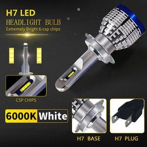Image 2 - 2x Led H4 H7 H8 H9 H11 H1 9600LM 6000KรถLEDไฟหน้าหมอกโคมไฟ9005 HB3 9006 HB4 h10 9012(HIR2) หลอดไฟหมอก12V 24V