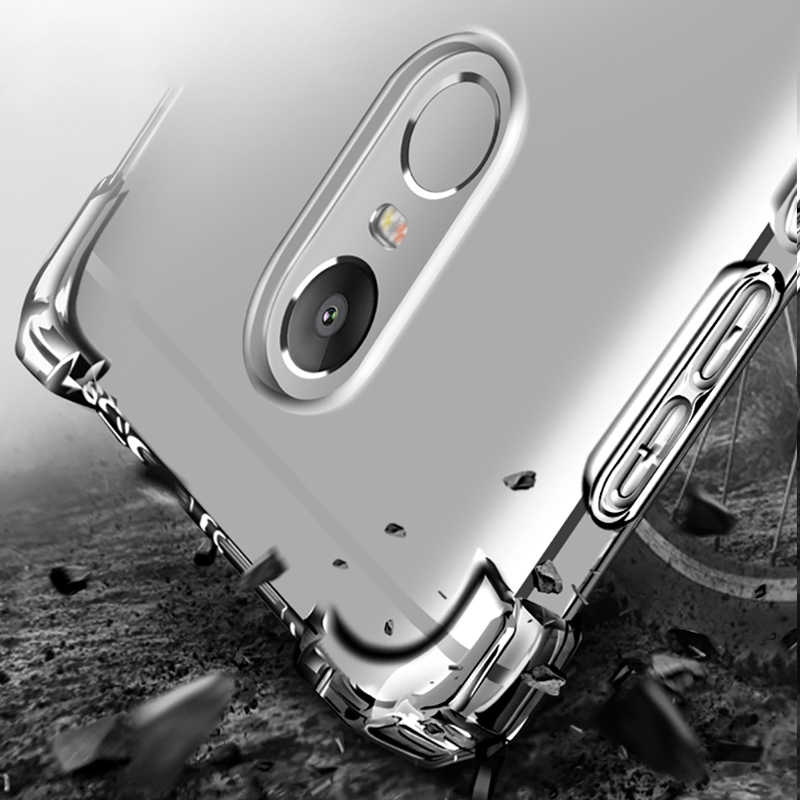 PZOZ กันกระแทกป้องกันโทรศัพท์กรณี Xiaomi Redmi หมายเหตุ 4/หมายเหตุ 4X กรณี SHELL COVER เดิมที่สมบูรณ์แบบ Redmi note4