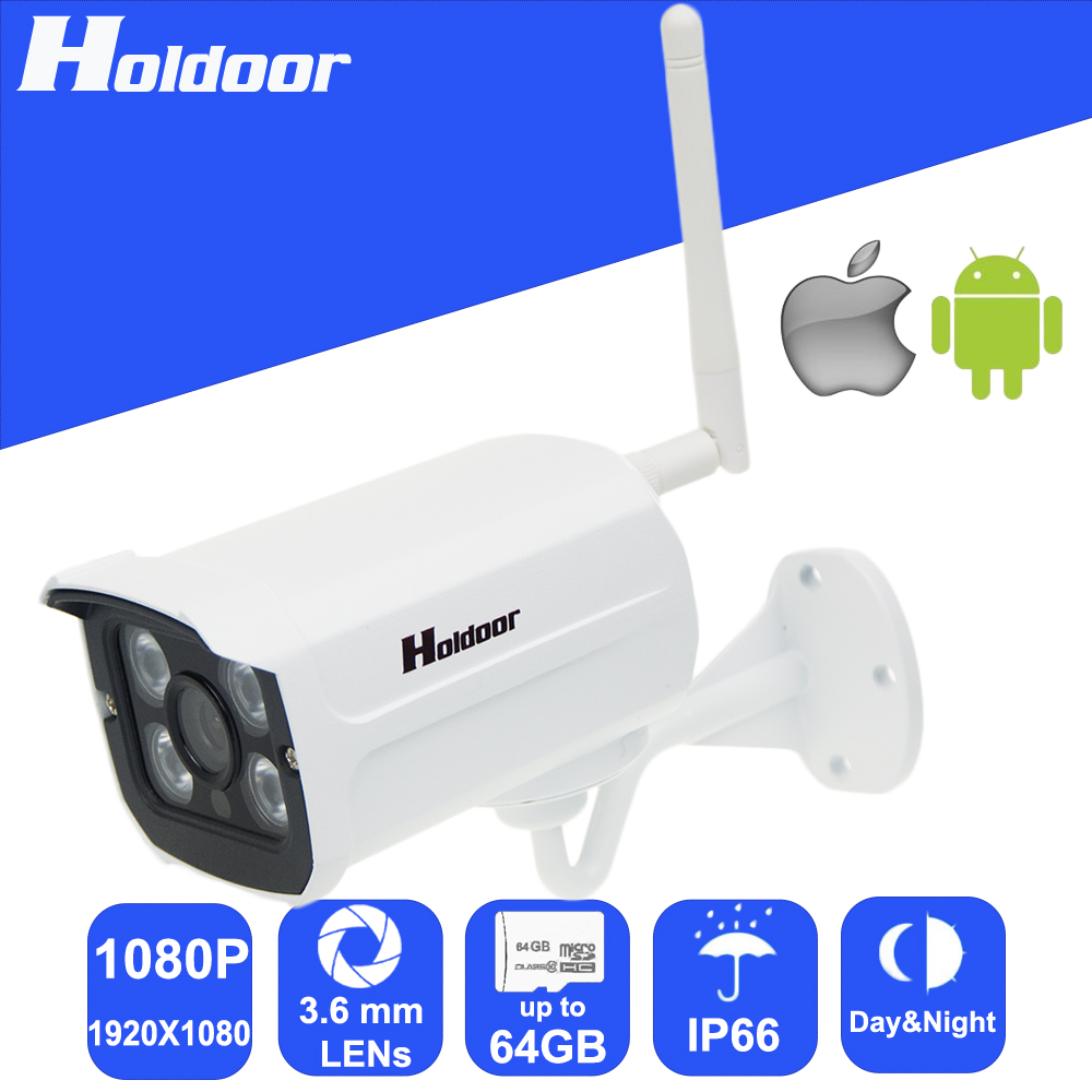 1080P 1920x1080 Wireless WiFi IP HD Camera 3.6mm Lens Micro SD Card Slot Onvif remote video record motion detection email alert wifi 960p 6 0mm lens ip p2p security camera micro sd card slot video record email alert motion detection alarm waterproof ip65
