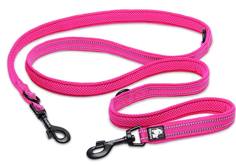 Truelove 7 In 1 Multi-Function Adjustable Dog Lead Hand Free Pet Training Leash Reflective Multi-Purpose Dog Leash Walk 2 Dogs (19)