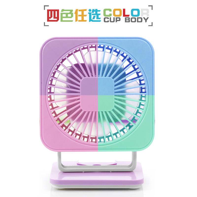 USB Rechargeable Mini Fan Clip Small Fan Portable Small Desk Fan Rotary Vane Use For Home Office Travel