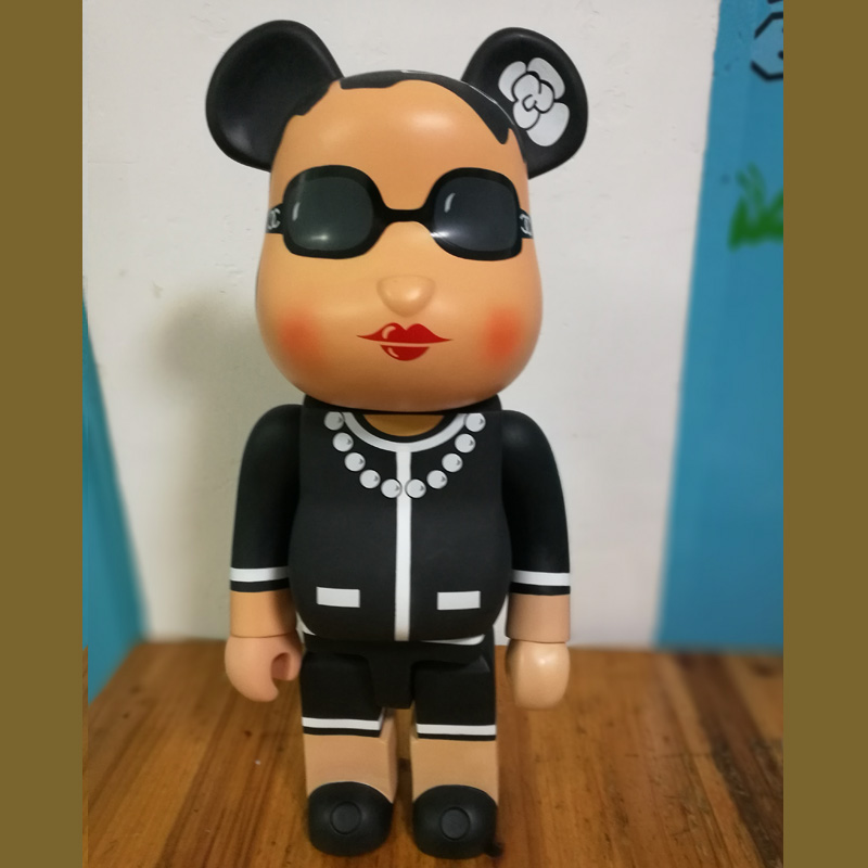 Hot 22 52CM 700% Bearbrick Be@rbrick CH luxury Lady Medicom Toy Art Work Great Gift for Friends hot selling oversize 1000% bearbrick luxury lady ch be rbrick medicom toy 52cm zy503